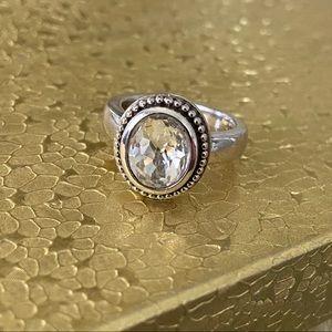 Ti Sento 925 Silver Ring Size 6